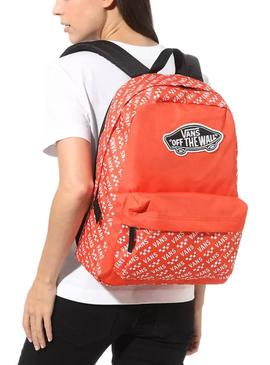 Backpack Vans Street Sport Red for Boy and Girl