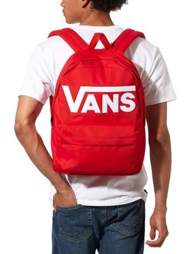Backpack Vans Old Skool Red for Boy and Girl