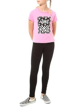 T-Shirt Vans Boxed Pink for Girl