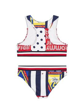 Bikini Tommy Hilfiger Patchwork Multi for Girl