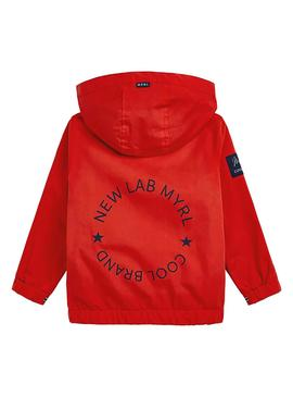 Jacket Mayoral Windbreaker Red for Boy