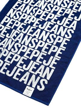 Towel Pepe Jeans Tom Blue for Boy