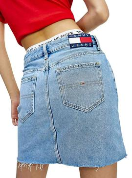 Skirt Tommy Jeans Flag For Woman