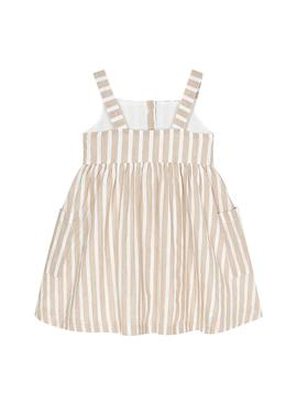 Dress Mayoral Arena Beige for Girl