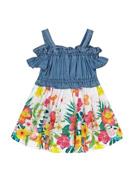 Dress Mayoral Combi Multicolor for Girl