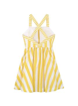 Dress Mayoral Summer Yellow for Girl