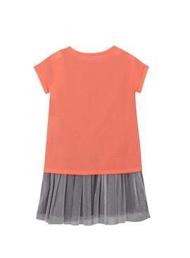 Dress Mayoral Combined Coral for Girl