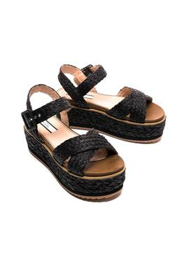Flip flops Pepe Jeans Wick Natural Black for Woman