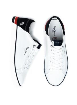 Sneaker Pepe Jeans White Marton For Man