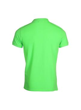 Polo Jott Cherbourg Green Neon for Man