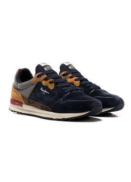 Sneaker Pepe Jeans Tinker Blue for Men