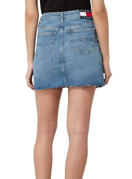 Skirt Tommy Jeans Denim ANMB For Woman