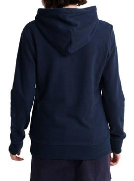 Sweatshirt Superdry Applique Blue for Woman