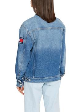Jacket Denim Tommy Jeans Oversize ANMB Woman