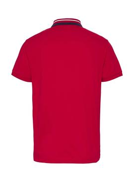 Polo Tommy Jeans Classic Red for Man