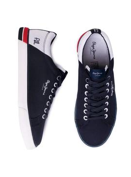 Sneaker Pepe Jeans Marton Blue Navy for Man