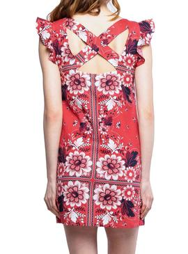 Dress Pepe Jeans Ruby Coral for Woman