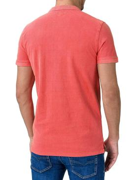 Polo Pepe Jeans Vicent Coral for Man