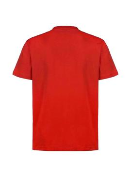 T-Shirt Lacoste Loose Red for Man