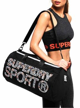 Backpack Superdry Barrel Black for Woman