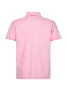 Polo Tommy Hilfiger Regular Rosa for Man