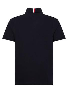 Polo Tommy Hilfiger Icon Blue Blu Navy for Man