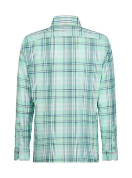 Shirt Tommy Hilfiger Midscale Green for Man