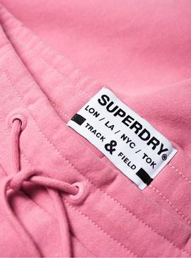 Jogger Superdry Track Rosa for Woman