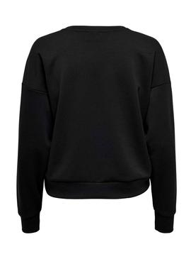 Sweatshirt Only Africa Black for Woman