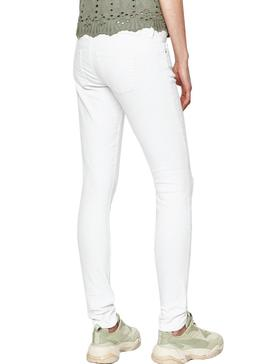 Jeans Only Coral White for Woman