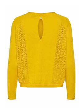 Sweater Only Eden Yellow for Woman