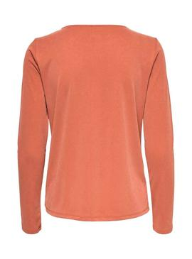 Sweater Only Fresh Naranja for Woman