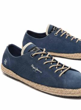 Sneaker Pepe Jeans Tourist Blue for Man