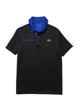 Polo Lacoste Block Black for Man