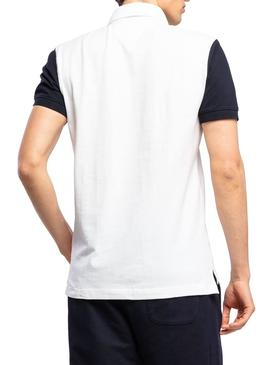 Polo Tommy Hilfiger Colorblock White for Man