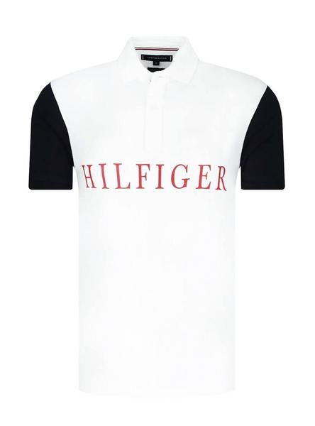 Tommy Hilfiger Buoy Print Regular Polo Hombre