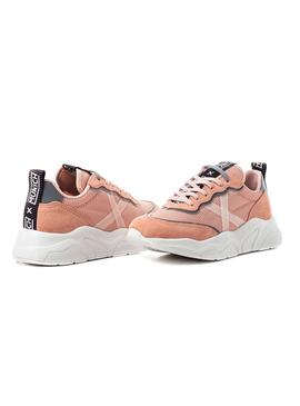 Sneaker Munich Wave 24 Pink for Woman