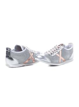 Sneaker Munich Osaka 409 Silver for Woman