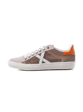 Sneaker Munich Mesh 33 Beige for Woman