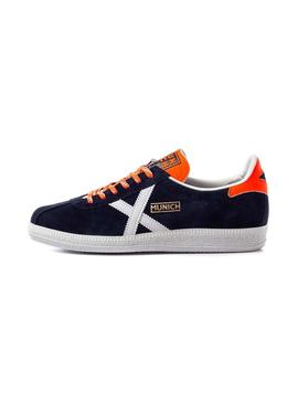 Sneaker Munich Barru 78 Blue Woman y Man