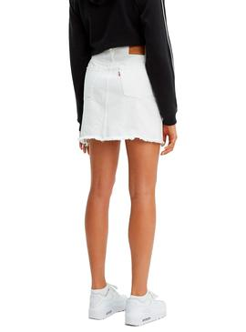 Skirt Levis Deconstructed Iconic White Woman