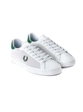 Sneaker Fred Perry Lawn White for Man