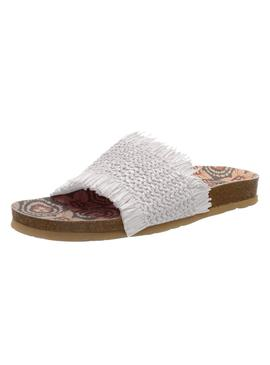 Flip flops Pepe Jeans Oban Lamu White for Woman