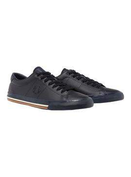Sneaker Fred Perry Underspin Blue for Man