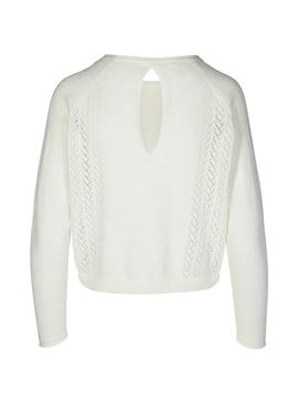 Sweater Only Eden White for Woman