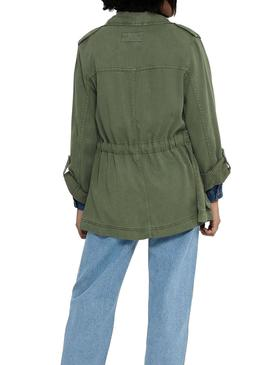 Parka Only Kenya Green for Woman
