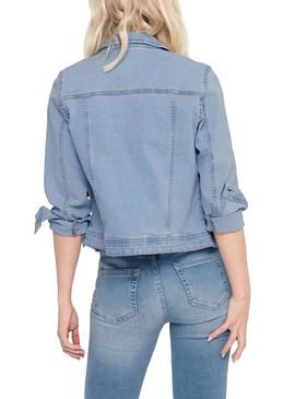Jacket Only Westa Denim Claro for Woman