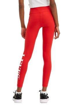 Legging Levis Logo Red for Woman