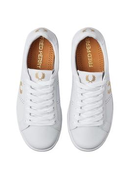 Sneaker Fred Perry B721 White Man y Woman