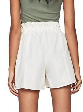 Short Pepe Jeans Light Beige for Woman
